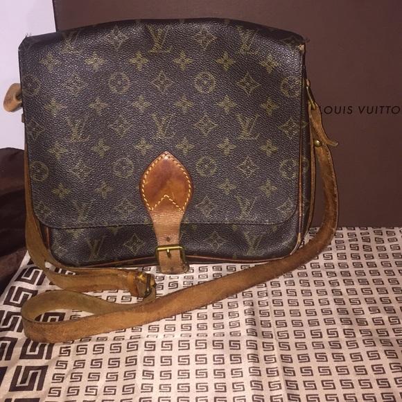 4510213c49b2 Louis Vuitton Handbags - Louis Vuitton Cartouchiere GM Crossbody